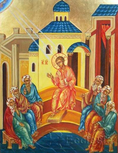Jezus nauczający w Świątyni - Alicja Barton