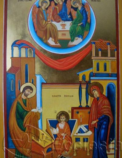 Święta Rodzina - Elżbieta Moskal