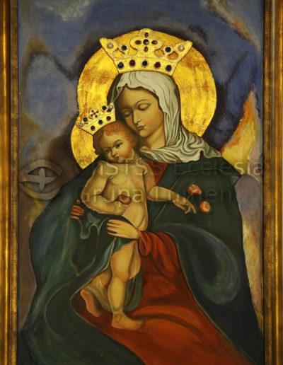 Madonna Parczewska - Matka Boża z Gruszką - Roma Dzierwa