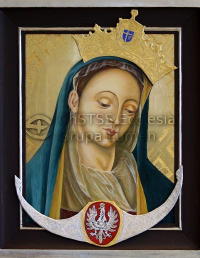 Matka Boża Cierpliwie Słuchająca z Rokitna - Elżbieta Polończyk-Moskal