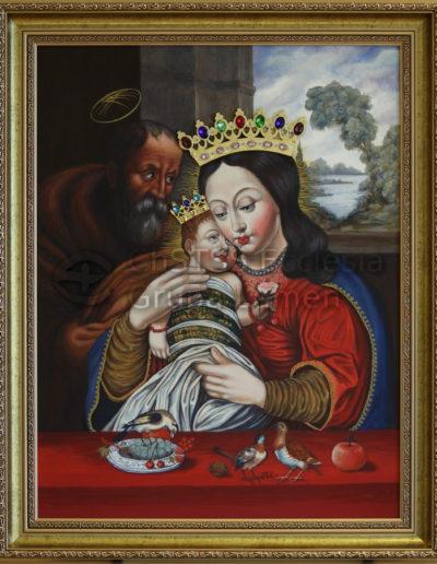 Matka Boża Dzikowska Róża Jerychońska - Małgorzata Rawska